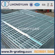 Galvanized Serrated Steel Bar Grating for Trench Floor