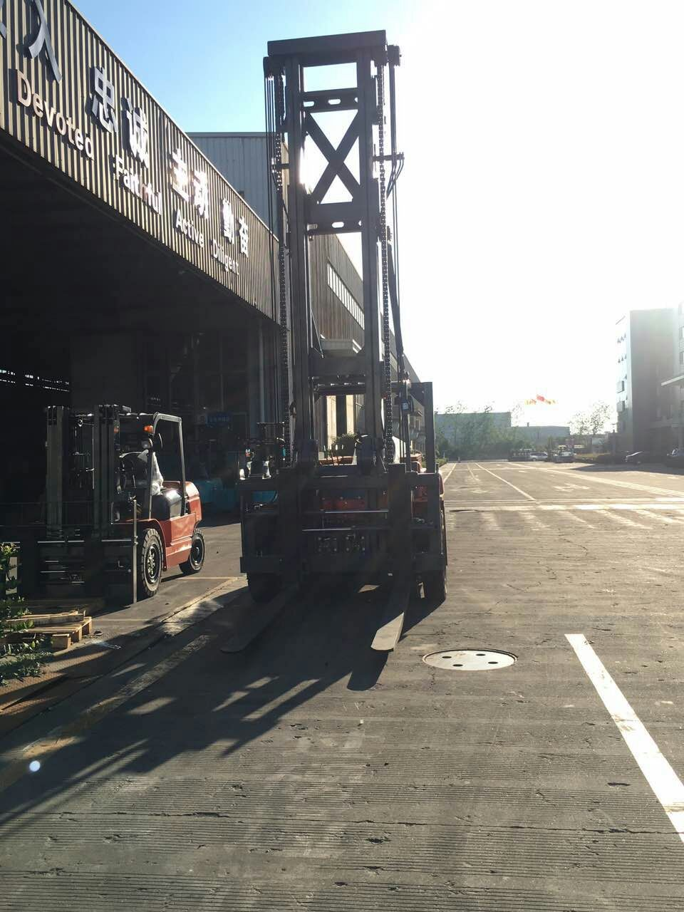 10 Ton Diesel Forklift