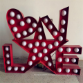 Custom Decorative LED Marquee Letter Signs