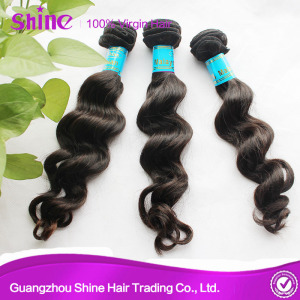 Malaysian Loose Curly Wavy Hair Weave
