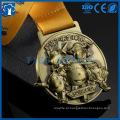 Cheap Fashion Custom Antique Gold, Silver Bronze Logo Metal Award Medal