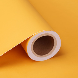 Wall decoration solid color pvc paper