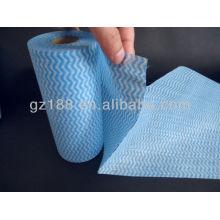 Мягкий toucing отрывные полотенца nonwoven крены, Non сплетенное spunlace ролл