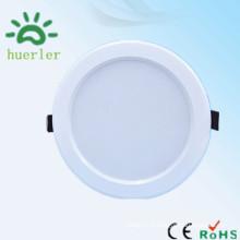 Nouvelle lumière moderne de qualité supérieure 100-240v 18led 4 pouces en forme ronde 9w conduit lumière encastrée vers le bas