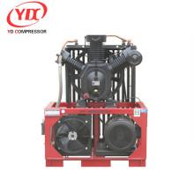 Compresores de aire sin aceite del compresor de aire del pistón de alta presión de la máquina que sopla del ANIMAL DOMÉSTICO para la fuente de aire de la materia textil