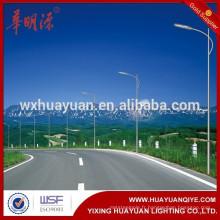 Meilleur prix de qualité OEM Custom Q235 6m-12m HDG en acier galvanisé lampe poste de lumière