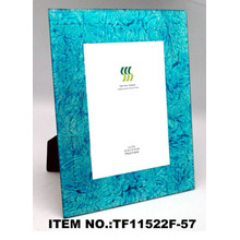 Quality Gold Foil Paper Glass Photo Frame