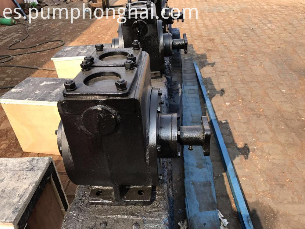 Oil Tanker Truck Pump