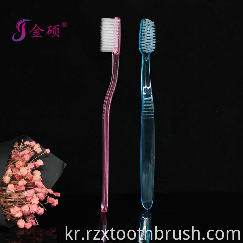Hotel Disposable Toothbrush Flat Toothbrush1