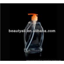 Frasco plástico do pulverizador / recipiente plástico do frasco / garrafa cosmética do gel do chuveiro