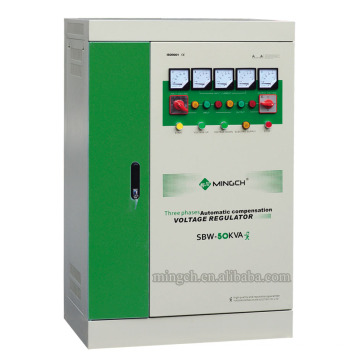 Gefertigte SBW-Z-120k Drei Phasen Wechselspannungsstabilisator / Stabilisator