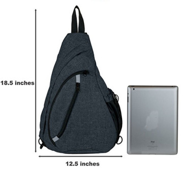 Hot Selling Trendy Multi-Function Sling Pack Väskor