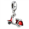 925 Silver Motor Charms with Enamel Jewellery