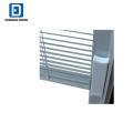 Fangda internal blinds painted white metal louver doors