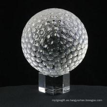 Bola cristalina / de acrílico / bola que hace juegos malabares / bola de golf Jd-CB-045