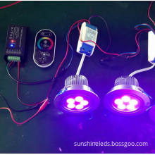 3year Warranty 1*3W RGB COB LED Ceiling Lamp/Ceiling Downlight