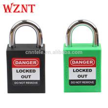 Cadenas à clé principale de 25 mm, cadenas de sécurité d'étiquetage de verrouillage avec la même clé