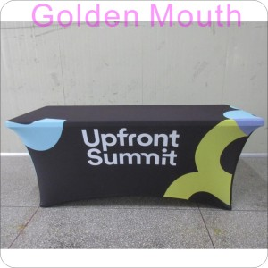 6 FT Custom Logo Printed Table Cover