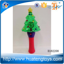 H182208 Hot Christmas items kids playing led Christmas tree flash toy for sale