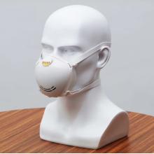 Masque facial chirurgical médical jetable de boucle d'oreille 3ply avec 3 plis non tissé
