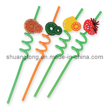 Crazy Straws 6*260mm Curly Straws