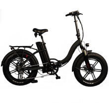 Mini Pocket Electric Bicycle Folding Electric Bike Fat Tire Scooter