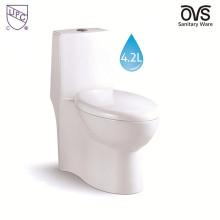 Ванная Комната Дизайн Двойного Смыва Компактный Туалет