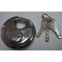 Shengli de aço inoxidável redondo disco Padlock com chave de computador