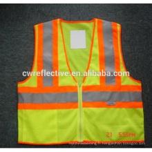 Enfants réfléchissants de veste de sécurité de visibilité élevée rencontrant EN1150
