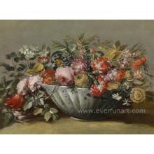 Wand-Dekor Handgemachte Ölgemälde Blume