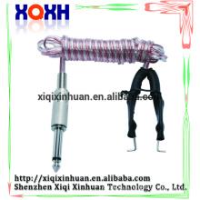 Durable tatouage clip cordon silicone rumbber tatouage machines alimentation électrique jetable microblading stylo clip clip