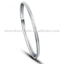 Wholesale Women Cheap Bangles Stainless Steel Fashion Bracelet Jewelry