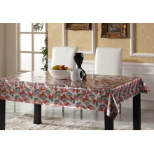 All Design Glod Embossed PVC Printed Tablecloth