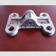 Porte en aluminium de die casting fait sur commande poignée serrure et boutons