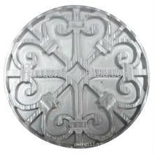 plaque de cercle en aluminium sur mesure pour les pièces de garde-corps