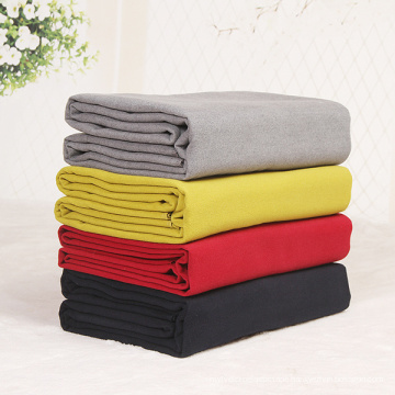 2020 Best-Today Factory Top Quality Hot Sale High Density Woolen Material Super Soft Warm Cozy Wool Yoga Blanket