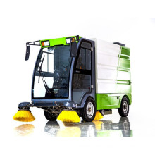 All electric Enclosed Road Sweeper