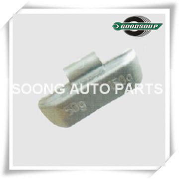 Clip de plomo (PB) en pesas de ruedas para camiones pesados, tipo universal, calidad súper
