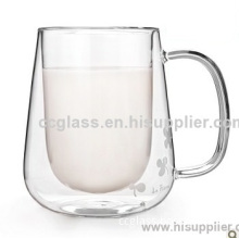Creative Thicken Heat Resistant Double Wall Glass Mugs