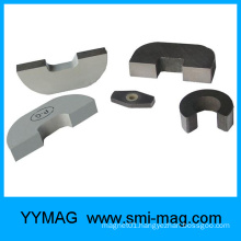 High quality U-shape Alnico concave magnets