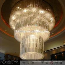 Luxe hôtel cristal Chine lumière
