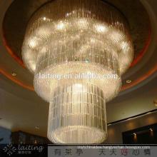 Luxury hotel crystal china light
