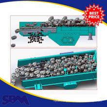Máquina do alimentador do funil de vibração do motor do Iso para a indústria mineira de Nigéria