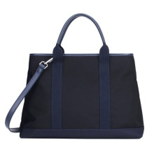 Heavy Duty Black Handbag Tote Bag for Women