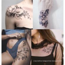 Tattoo Body Art Painless Hot Stamping Heat Non-Toxic Waterproof Temporary Tattoo, Eco Face Body Temporary Tattoo Sticker