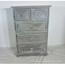 Armoires de cuisine en bois massif bleu de haute qualité pour la vente en gros