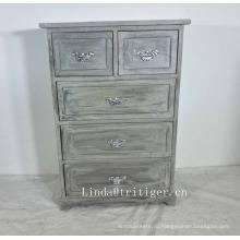 Кантри стиль высокого качества синий твердой древесины кухонный шкаф для оптовой продажи