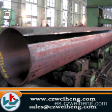 SSAW / Lsaw Steel Pipe con buena calidad y