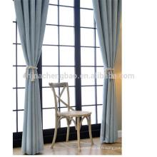 Les derniers rideaux en velvet de style ont été utilisés pour la vente depuis la Chine