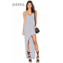 Stripe Knit Slip Mujer Tank Dress